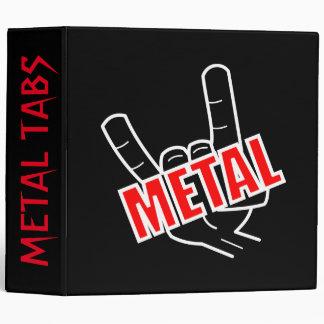 Metal Tabs Binder