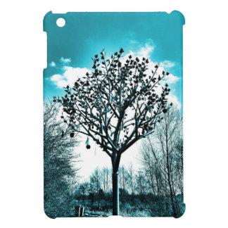 metal tree on the field iPad mini case