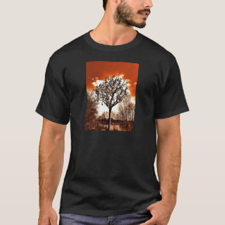 metal tree on the field orange tint T-Shirt