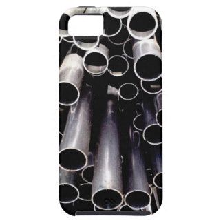 metal tube ends iPhone 5 case