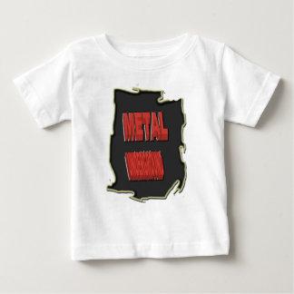Metal Underground Black ethnic Background Baby T-Shirt