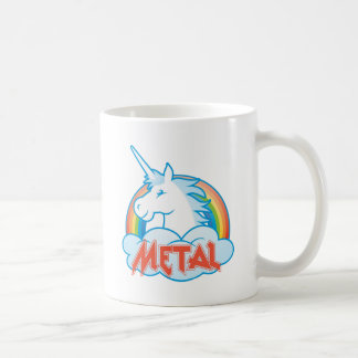 metal-unicorn coffee mug