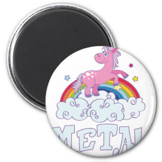 Metal Unicorn Magnet