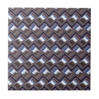 metal Weave blue (I) Ceramic Tiles
