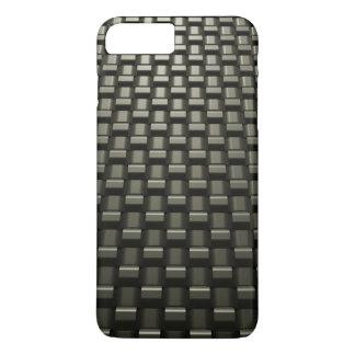 Metal Weave iPhone 7 Plus Case Gun Metal Dark