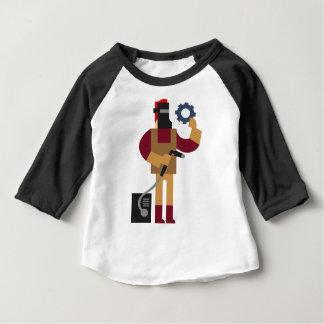 Metal Worker Baby T-Shirt