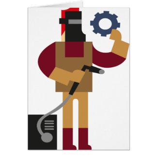 Metal Worker Card