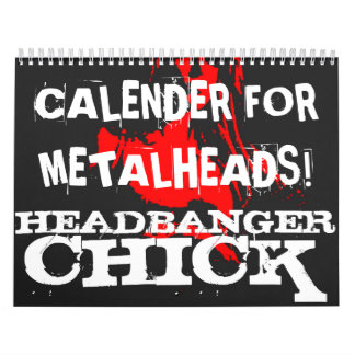 Metalhead Calender Wall Calendars