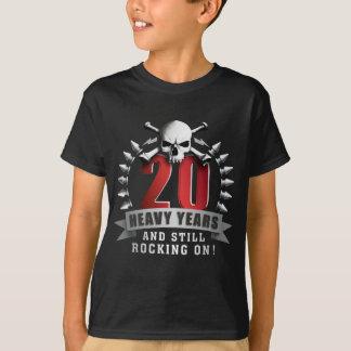 Metalhead Jubilee 25, 30, 40, 50, 60, 70, 75 year T-Shirt