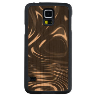 Metalic Liquid in Black and White Cherry Galaxy S5 Slim Case