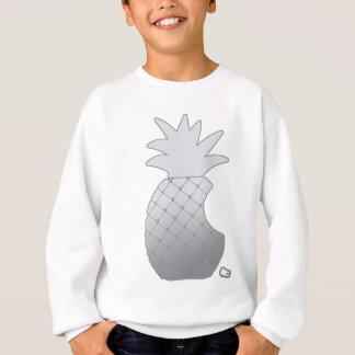 Metalic pineapple toothless tech sweatshirt