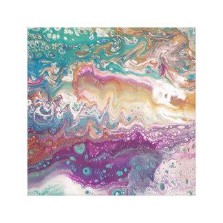 Metalic Wave Canvas Print