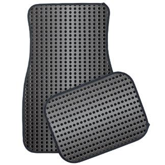 Metallic Background Floor Mat