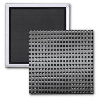 Metallic Background Square Magnet
