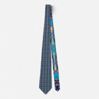 Metallic Blue Lapis Ocean Jewel Tie by Deprise