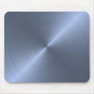 Metallic Blue Mouse Pad