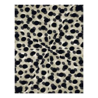 Metallic Camouflage Custom Letterhead