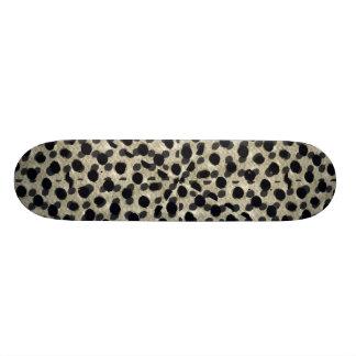 Metallic Camouflage Custom Skateboard