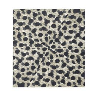 Metallic Camouflage Notepads
