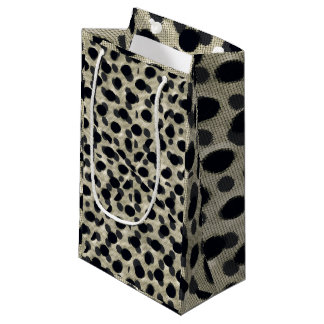 Metallic Camouflage Small Gift Bag