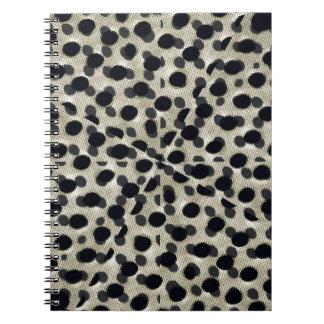 Metallic Camouflage Spiral Note Books