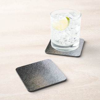 Metallic Chrome Steel Industrial Cork Coasters