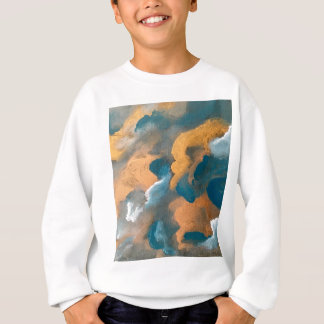 Metallic Clouds Sweatshirt