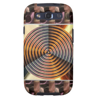 Metallic Colors WHEEL Heal Vibrations Samsung Galaxy S3 Case