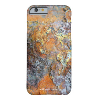Metallic Corrosion Cool Rusty Industrial  Textured Barely There iPhone 6 Case