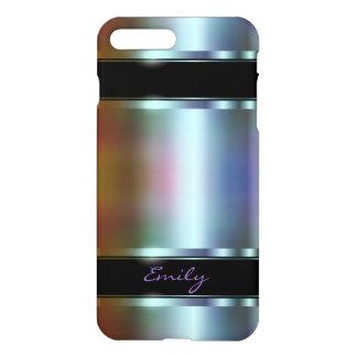 Metallic Design Soft Color Tint Design iPhone 7 Plus Case
