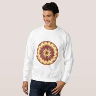 Metallic element sweatshirt