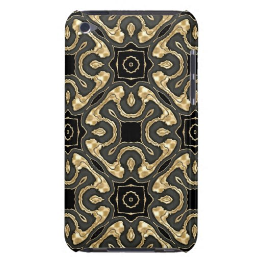 Metallic Gold Lace Barely There iPod Cover