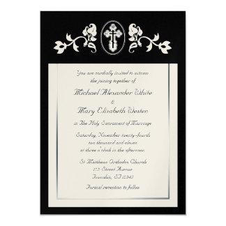 Metallic Gold - Orthodox Wedding Invitations