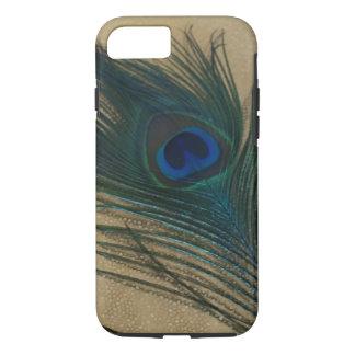 Metallic Gold Peacock iPhone 7 Case