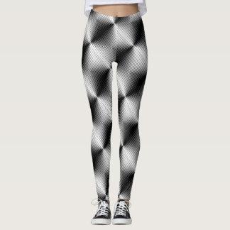 Metallic Gray Style Leggings