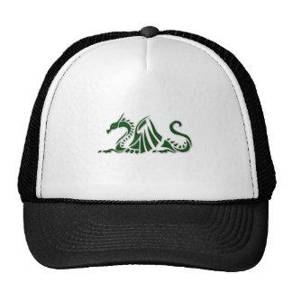 Metallic Green Dragon Trucker Hat