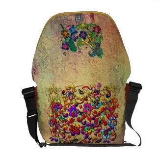 Metallic Hibiscus Butterfly Stars & Butterfly Girl Commuter Bags