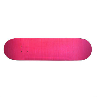 Metallic Hot Pink Custom Skateboard