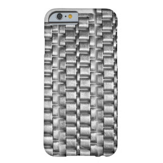 Metallic iphone cases - chain pattern steel silve