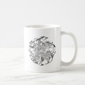 Metallic Lace Flower Coffee Mug