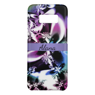 Metallic Mandelbrot Fractal Bloom Case-Mate Samsung Galaxy S8 Case