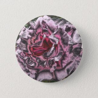 Metallic Pink Rose 2 Inch Round Button