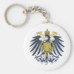 Metallic Preussian Eagle Key Chains