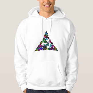Metallic Psychedelic Celtic Knot Hoodie
