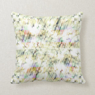 METALLIC RAIN THROW PILLOW