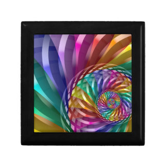 Metallic Rainbow Gift Box