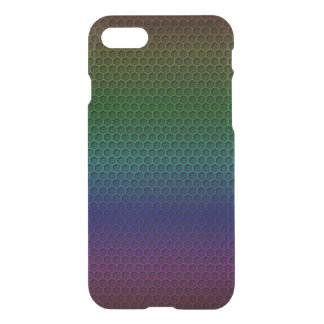 Metallic Rainbow Graphite Honeycomb Carbon Fiber iPhone 7 Case