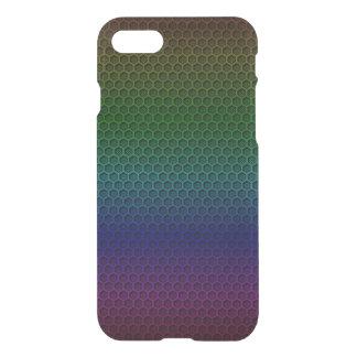 Metallic Rainbow Graphite Honeycomb Carbon Fiber iPhone 8/7 Case