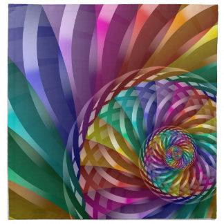 Metallic Rainbow Napkin