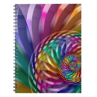 Metallic Rainbow Notebooks